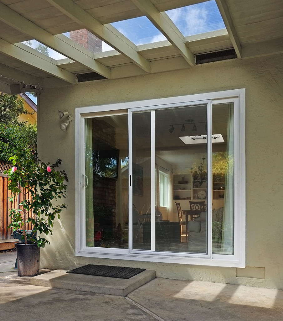 Exterior french patio doors the image for Single exterior patio door