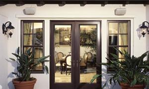 Lumera Espresso Exterior Door